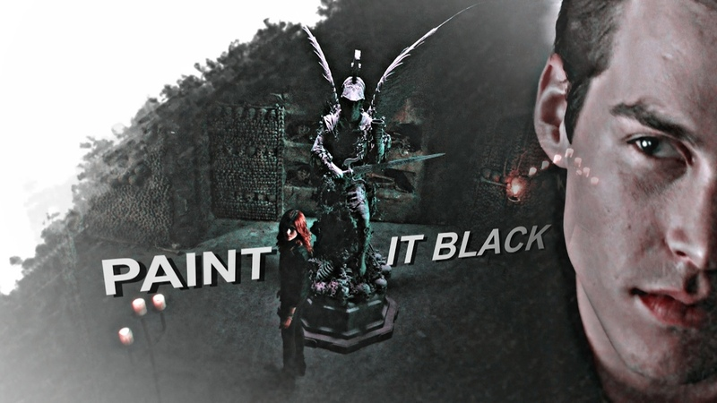 Paint it black Jonathan Clary Jace