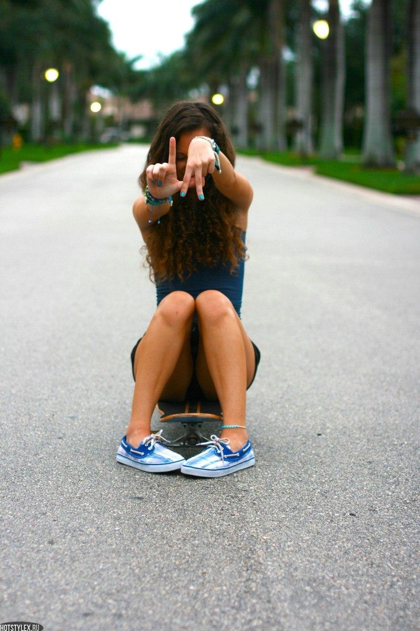 Фото девушек на аву летние