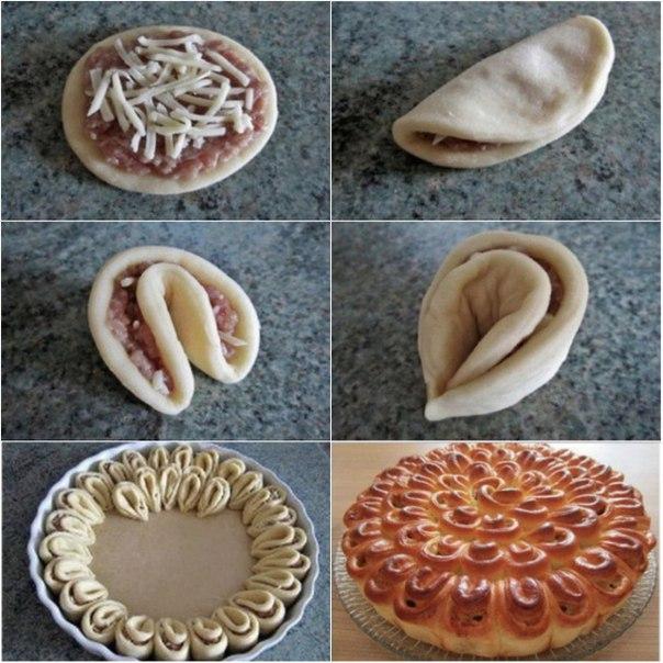 Формы слоеных пирогов