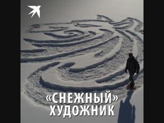 «Снежный» художник
