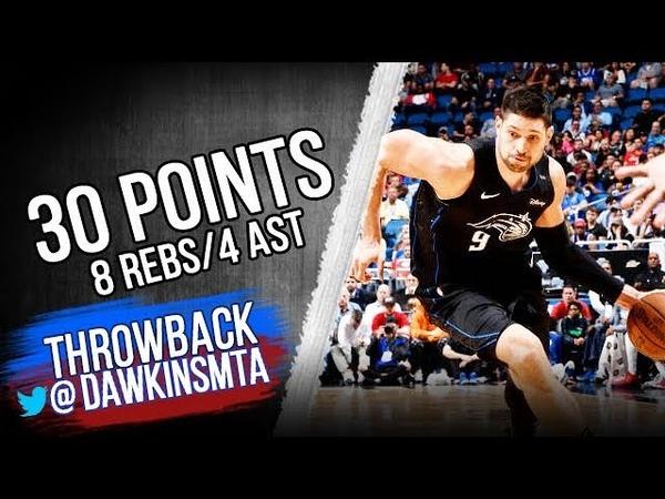 Nikola Vucevic Full Highlights 2018.11.14 Magic vs 76ers - 30 Pts, 8 Rebs, 4 Asts!   FreeDawkins