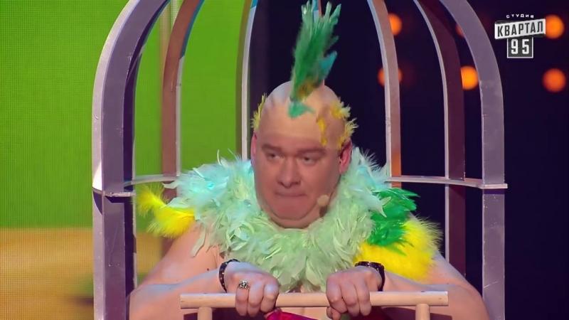 Шкура, алкаш, барыга - Муж научил попугая разговаривать