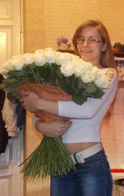 Настя Рябичкина, 24 января 1991, Санкт-Петербург, id12314028