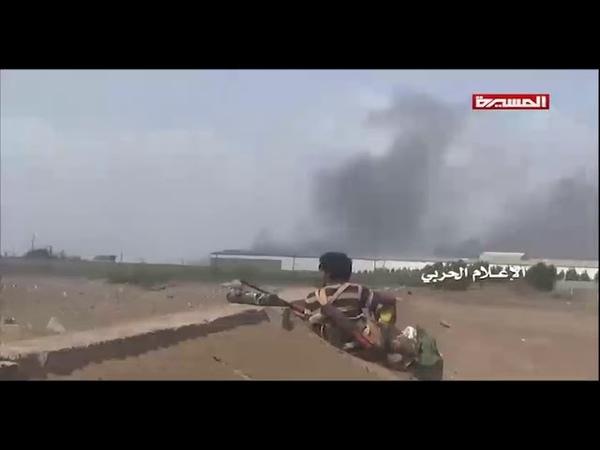 12-09-2018 Йемен хуситы уничтожили 8 броневиков и 14 машин саудовской коалиции