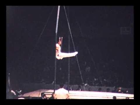 Tokyo 1964 Gymnastics YUKIO ENDO 遠藤 幸雄 Rings (Amateur Footage)