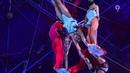 DPRK Pyongyang Circus Flying Trapeze at 39th Monte Carlo Circus Festival 朝鲜国立杂技团表演的空中绝技