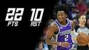 De'Aaron Fox vs OKC Thunder (22 PTS, 10 AST) | October 21, 2018 | 2018-19 NBA Season