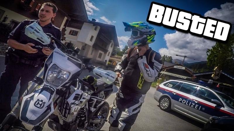 GTA IN REAL LIFE! SUPERMOTO AUSTRIA 2018