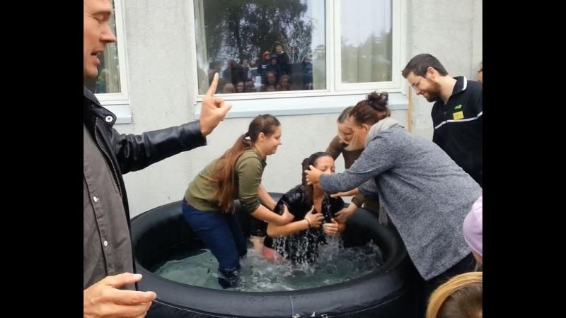 Кик Старт с Торбеном, день 2, субб. 29 сент. 2018. Крещение, учение о евангелии.