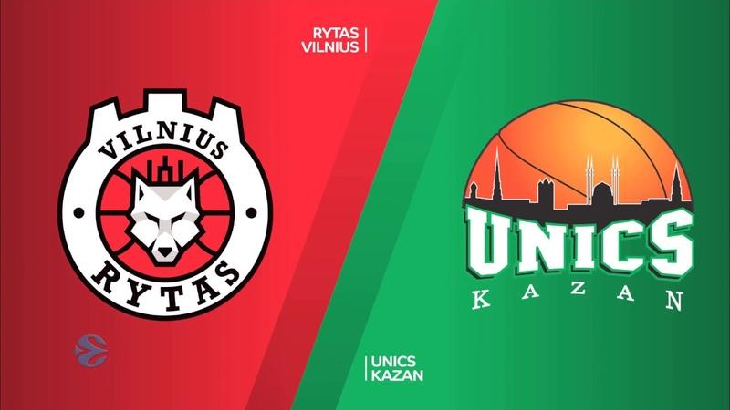 Rytas Vilnius - Unics Kazan Highlights | 7DAYS EuroCup, RS Round 7