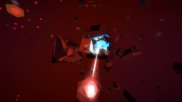 Infinity Square Space Unity Open source game prototype Minerals extraction