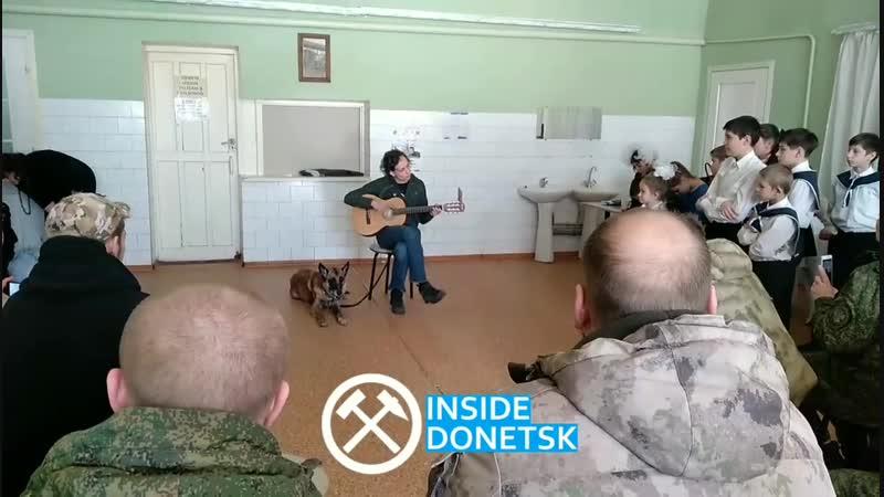 Юлия Чичерина для батальона Пятнашка