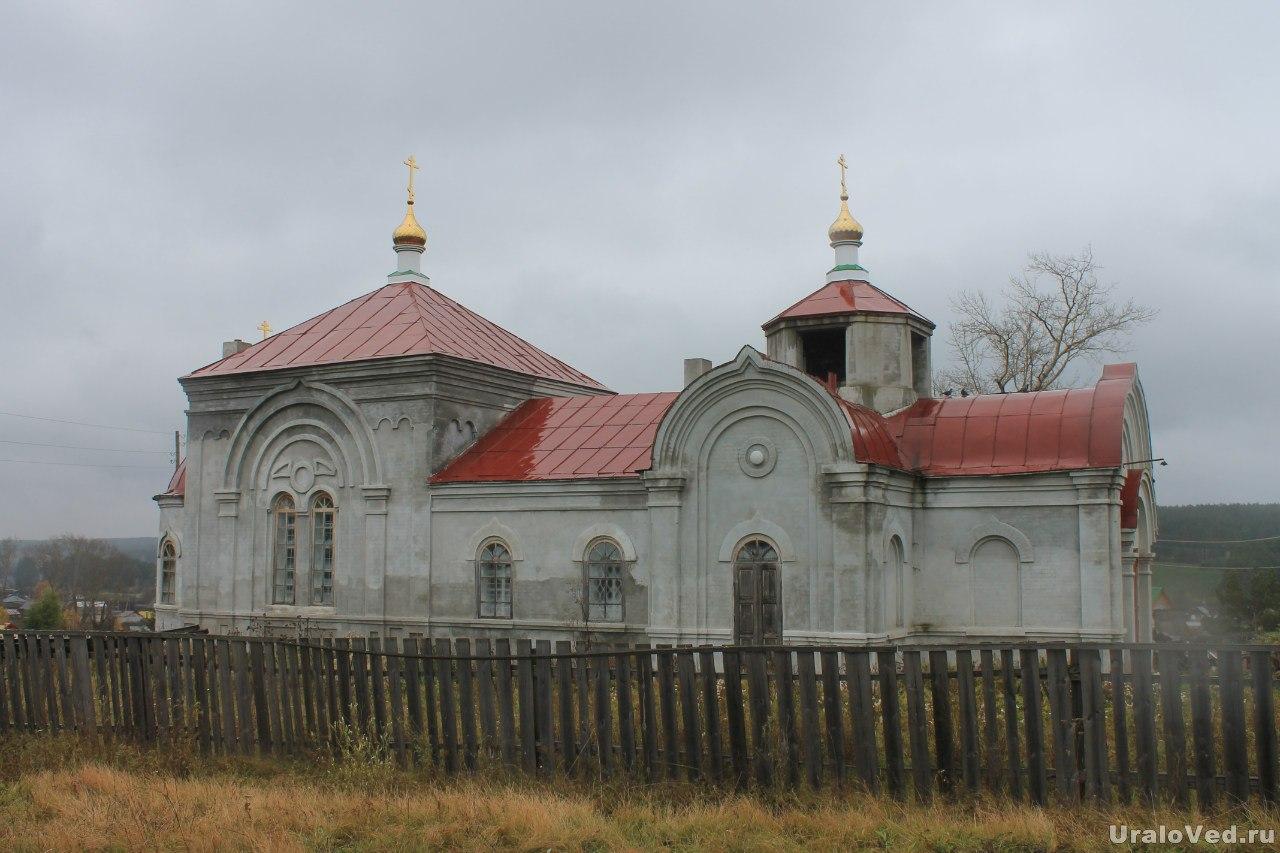 Церковь в Колюткино