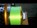 Намотка плетенки от Серебряного Ручья Jaba Line Х4 0 06мм на катушку Ryobi Zauber 4000