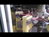 Automatic paper bag filling cutting guling and sealing machine