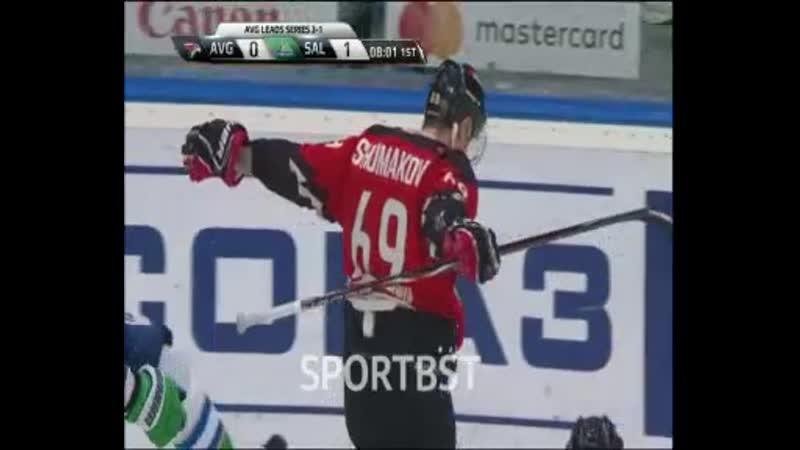 Шумаков делает счет равным!