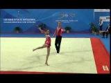 Rogers/Franks GBR2 MxP Dynamic ~ Acro World Cup Sofia Bulgaria 2013
