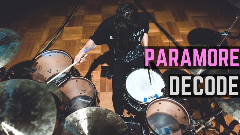 Paramore Decode Matt McGuire Drum Cover