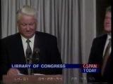 Ельцин в Library of Congress, 28 сентября 1994 г.