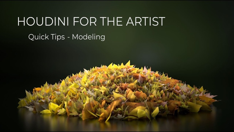 Houdini For The Artist - Quick Tips - The Trace Node