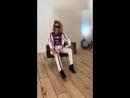 li_bash на съёмках лукбука нового костюма COF