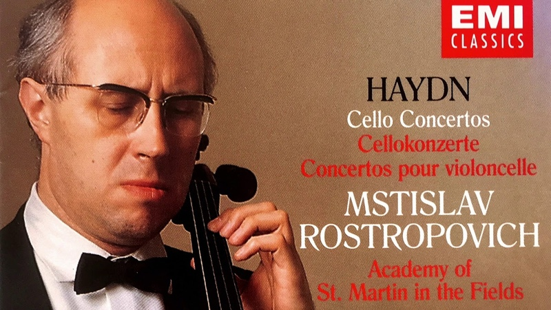 Haydn - The Cello Concertos (recording of the Century Mstislav RostropovichBrown)