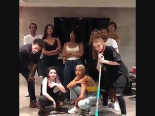 Drake - In My Feelings. Sabrina cast