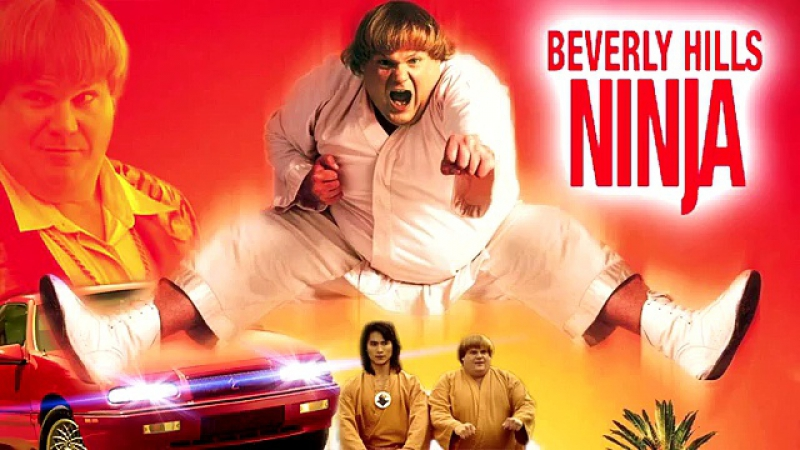 Ниндзя из Беверли Хиллз / Beverly Hills Ninja (1997) [HD]