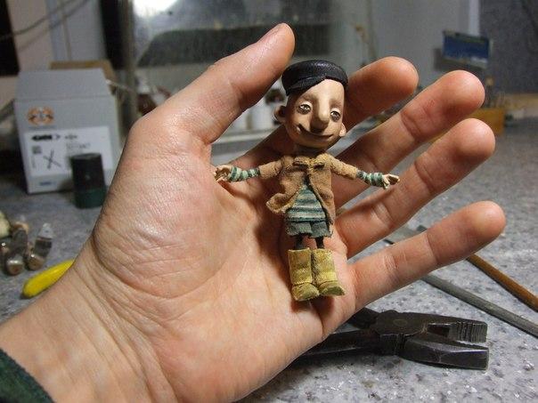 Как сделать анимационную куклу своими руками