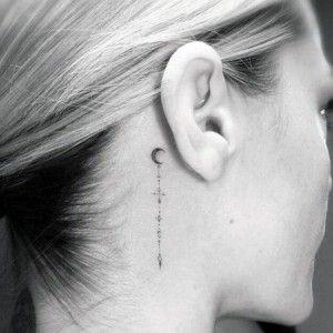 Оказывается, кожа за ушами, которой никогда не...