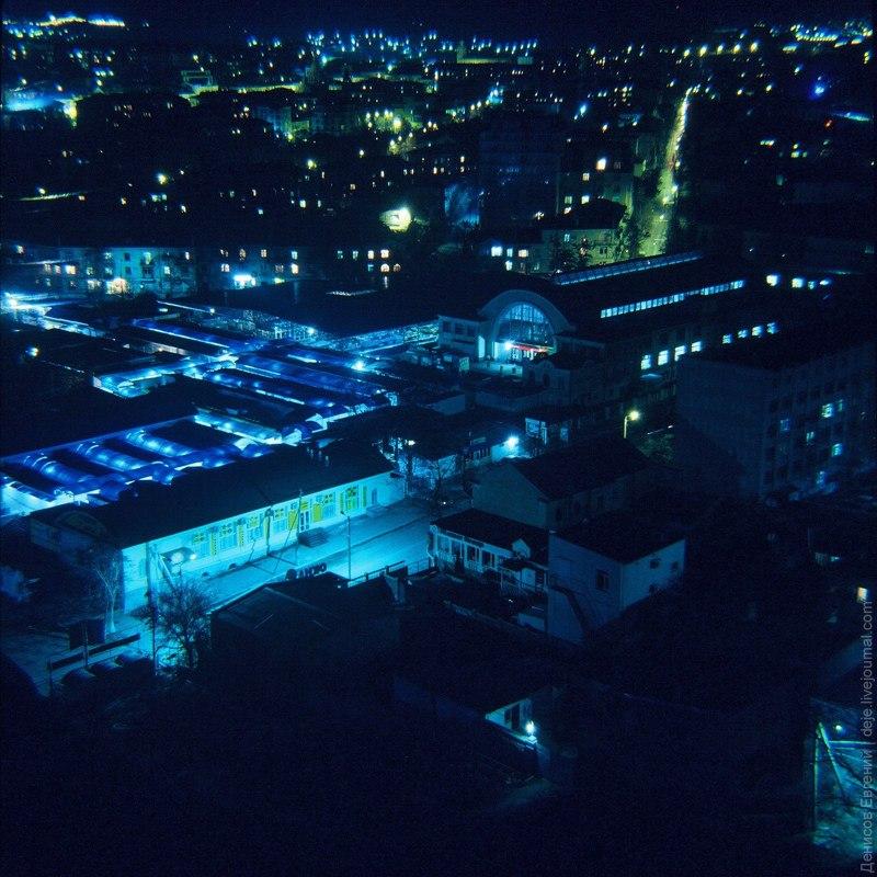 Центральный рынок. Вечерний Севастополь.