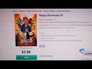 Ура!! наш комикс официально опубликовали на #comixology