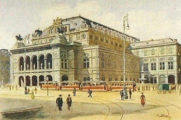 Адольф Гитлер хотел стать художником, даже подавал документы в Венскую Академию...