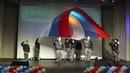 Церемониальное развёртывание флага