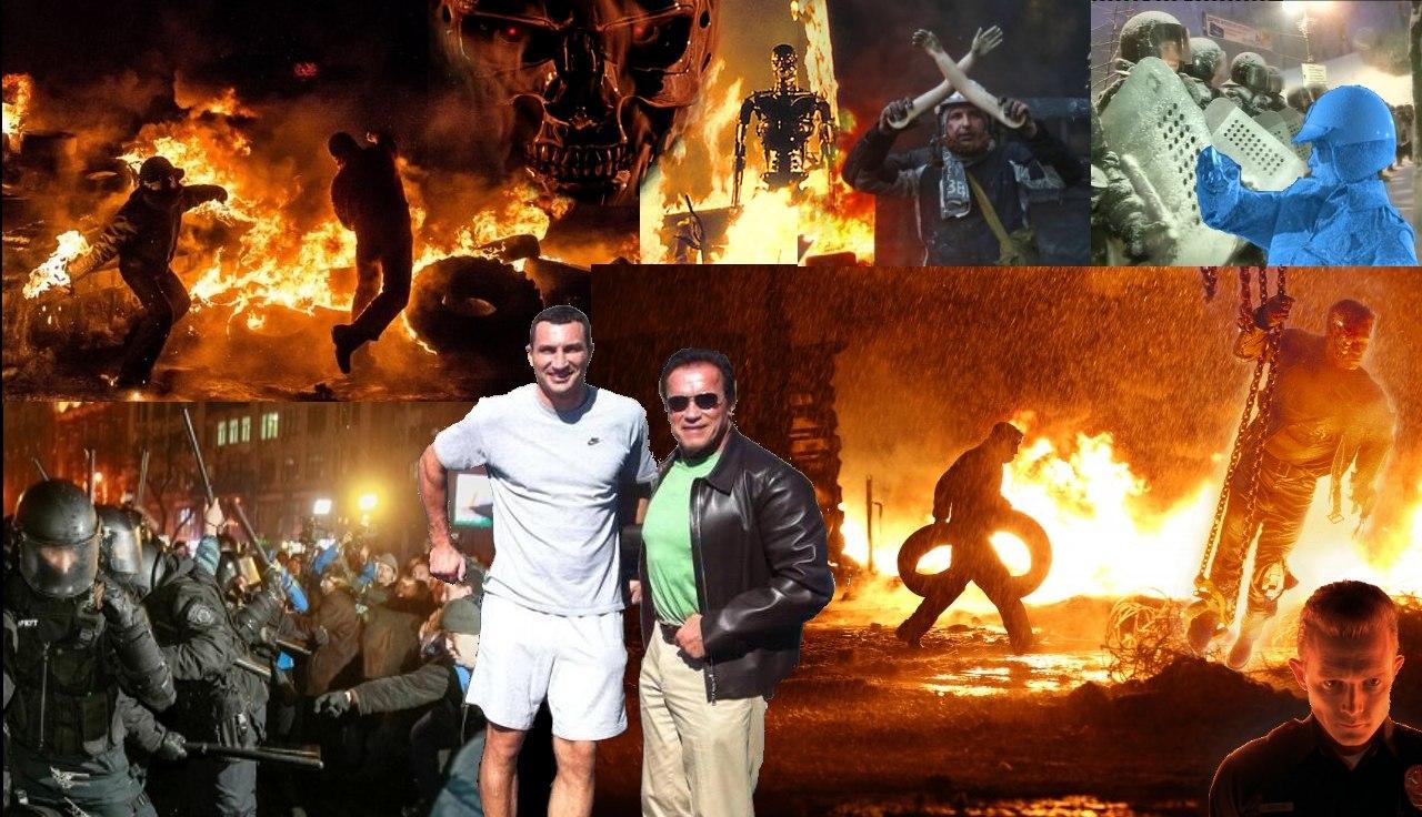 """Don't Serve the Dictator of Ukraine!"": Евромайдан дошел до Wall Street - Цензор.НЕТ 5656"