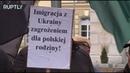 Акция протеста против украинцев мигрантов прошла в Польше