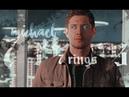 Michael   Dean - 7 rings   Supernatural