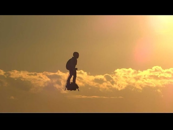 Zapata flyboard air® plays with clouds!