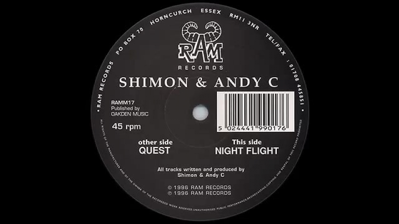 SHIMMON ANDY C. ~ NIGHT FLY.