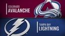 Colorado Avalanche vs Tampa Bay Lightning Dec.08, 2018 NHL Game Highlights Обзор матча
