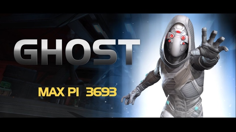 Ghost Special Moves | Marvel Contest of Champions
