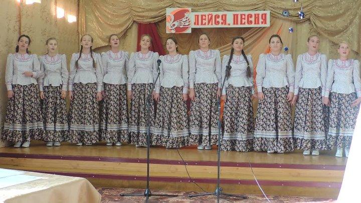 Ансамбль МКОУ СОШ с.Новогромово с песней Ива