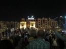 Ночь танцующих фонтанов в Дубаи.