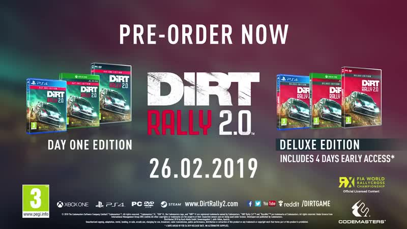 World RX in Motion - DiRT Rally 2.0 [UK]