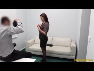 Fakeagent - anna polina - blowjob loving babe fucks on camera [2019, amateur, casting, кастинг, русское,blowjob,hardcore,1080p]
