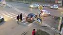 ДТП в Рыбинске на перекрестке улиц Гагарина и Волочаевская 13 ноября