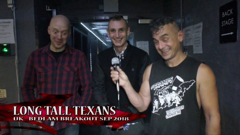 LONG TALL TEXANS at BEDLAM BREAKOUT SEP 2018