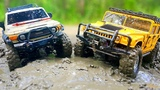 RC Cars MUD and Splashes  Hummer H1 Axial SCX10, Toyota FJ Cruiser HPI Venture  Wilimovich