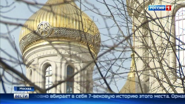 Вести-Москва • В храме Новомучеников и исповедников Российских на Лубянке прошла первая служба