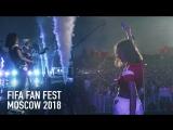 FIFA FAN FEST 2018 - Елена Темникова (Москва, Воробьевы Горы)